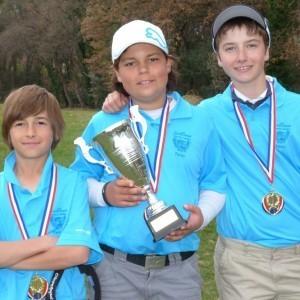 L'Oustau et Saint-Donat champions de ligue des moins de 13 ans