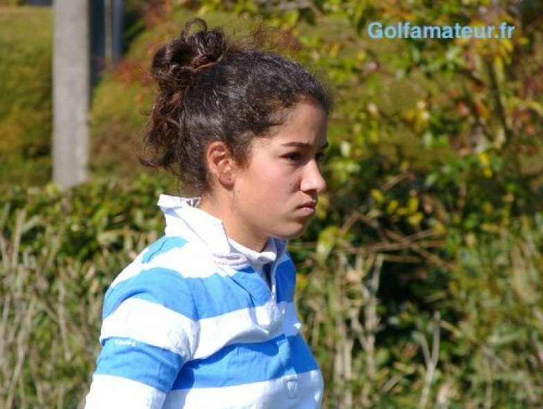Elise Genoux seule amateur française qualifiée à Fourqueux