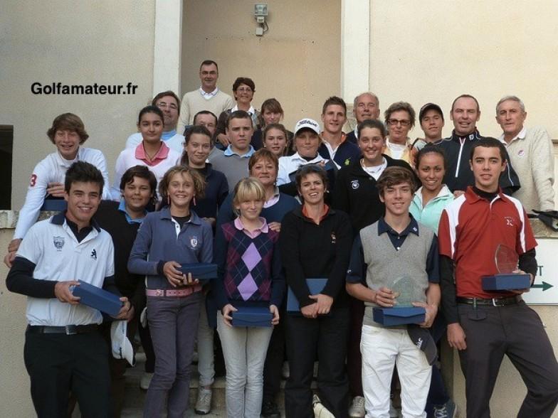 Le doublé pour Pauline Roussin-Bouchard, Coraline Tamponnet et Marion Benzekri