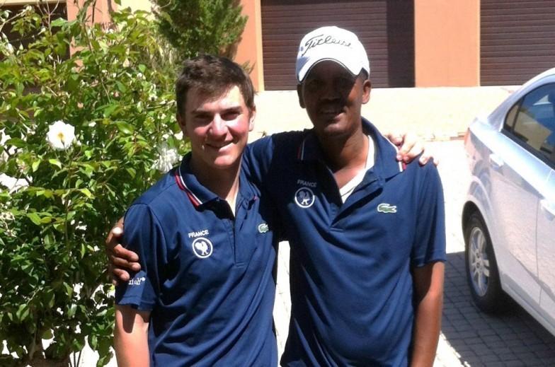 Nicolas Manifacier et Pierre Mazier finissent à deux coups du top 10