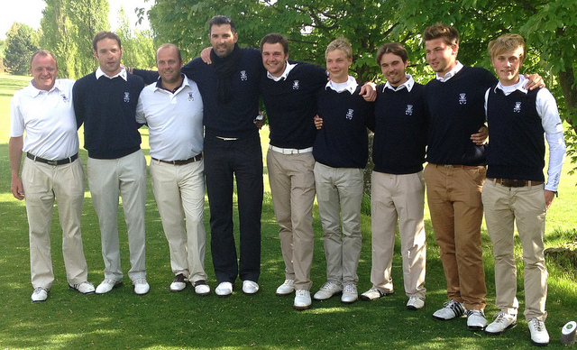 Amateur contest golf