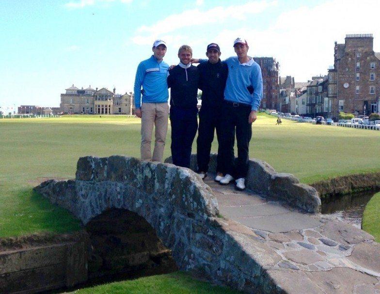 Dix-neuf Français au paradis des golfeurs