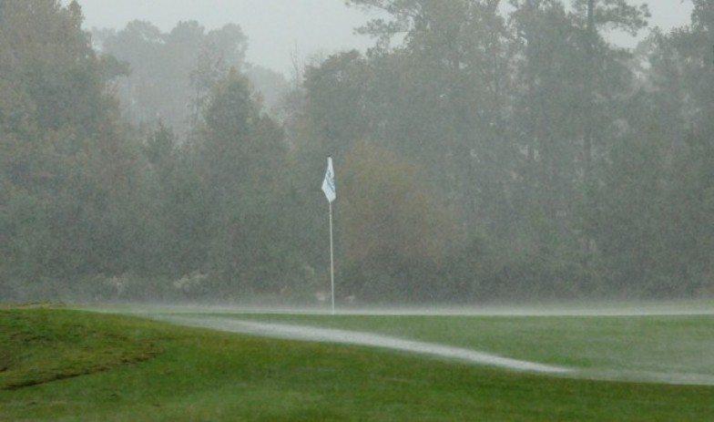 Le premier tour du Spirit interrompu par de fortes pluies