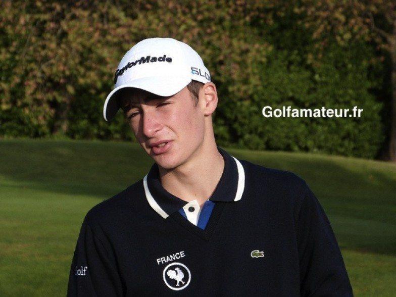 Adrien Pendaries vainqueur du Doral chez les 14-15 ans