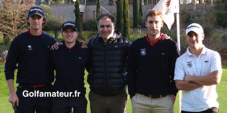 Le premier stage à Terre Blanche de Mathieu Fenasse et Ugo Coussaud