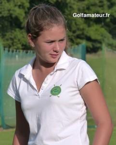 Après un aller difficile, Margot Béchadergue a bien réagi sur le retour mais a conclu sur un double mal venu.