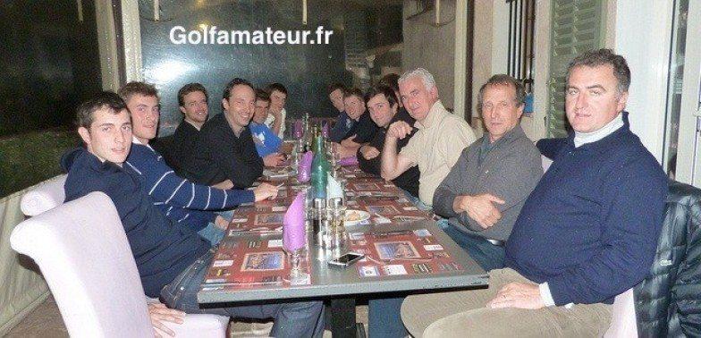 Fabrice Stoléar a rencontré et dîné avec le groupe France