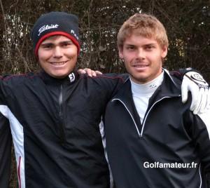 Romain Langasque et Léonard Bem ont joué sous le par et obtenu leur qualification.