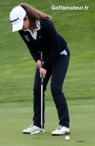 Marion Veysseyre partage la troisième place en compagnie d'Anaelle Carnet.