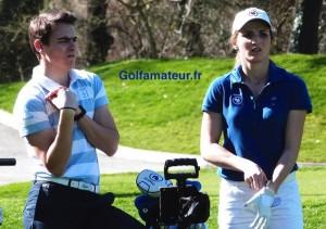 Pour son tournoi de reprise, Anyssia Herbaut occupe la deuxième place à deux coups d'Elise Genoux.