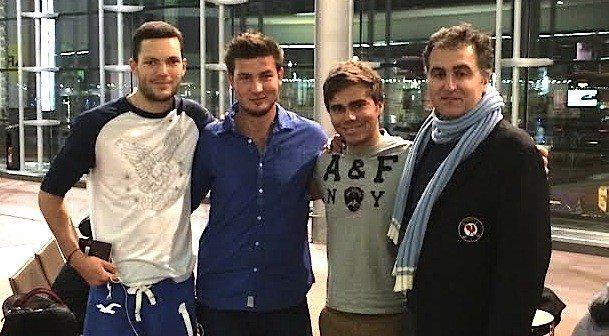 Grégoire Schoeb, Mathieu Decottignies-Lafon, Romain Langasque et Christophe Pottier se sont envolés hier soir pour l'Afrique du Sud où ils retrouveront les Boys.