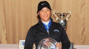 Avec un total de 216, Céline Boutier a remporté son premier tournoi aux Etats-Unis.