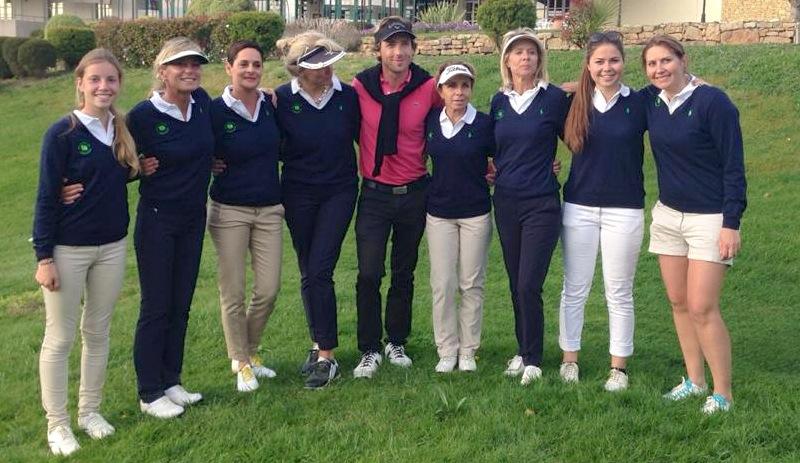 Pour la première fois de son histoire, l'équipe de Cannes-Mougins a remporté le titre de 1ere division dames.