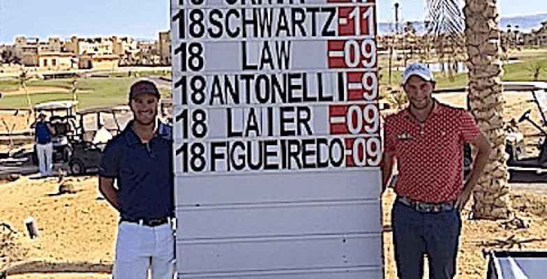 Antoine Schwartz et David Antonelli terminent sur le podium