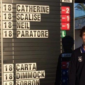 Edgar Catherine signe le meilleur score, la France deuxième