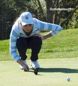 Pour la deuxième année consécutive, Anyssia Herbaut a atteint les demi-finales en Espagne.