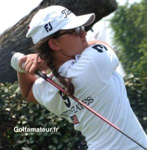 Louise Latorre est arrivée en forme et très motivée à Augusta pour disputer ce nouveau tournoi.