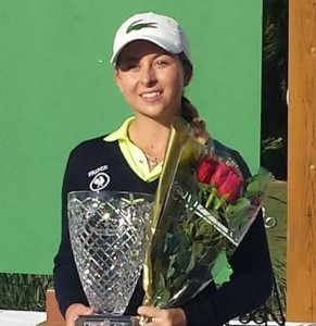 Vainqueur du Dixie Womens Amateur en décembre, Shannon Aubert est devenue la n°1 française.