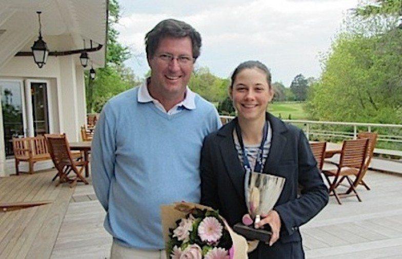 La deuxième grande victoire internationale d'Agathe Laisne