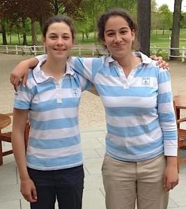 Agathe Laisne et Elise Genoux se sont battues pour atteindre la finale du trophée Claude-Roger Cartier.