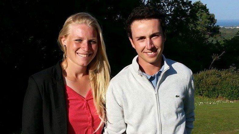 Thomas Elissalde et Ariane Provot à l'Open d'Arcachon