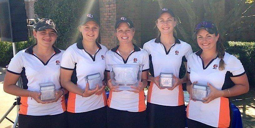 Louise Latorre et ses partenaires ont remporté leur quatrième tournoi de la saison sur le parcours de Georgie State.
