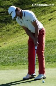 Le putter de Paul Elissalde était bouillant aujourd'hui. Il n'a totalisé que 26 putts.