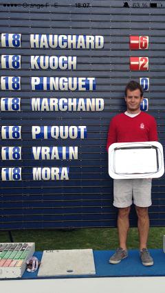 Clément Hauchard a remporté la victoire la plus importante de sa jeune carrière à Limère.