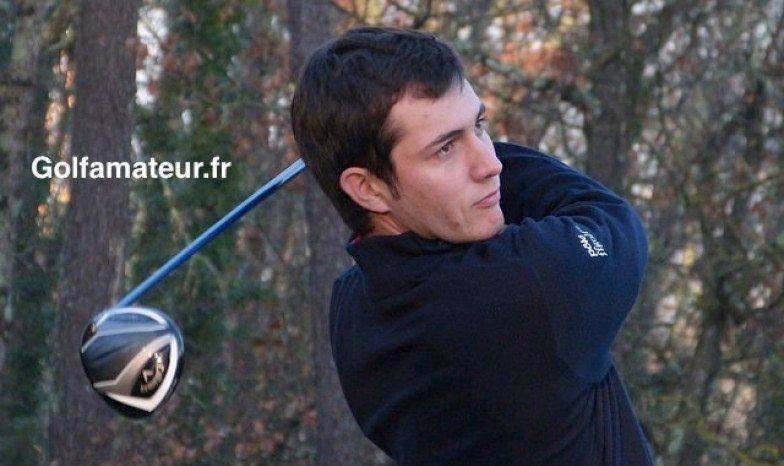 Julien Brun sponsorisé par Golfamateur.fr jusqu'à son passage chez les pros