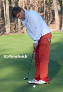 Grâce à un excellent putting, Romain Langasque a remporté le deuxième Grand Prix de sa carrière.
