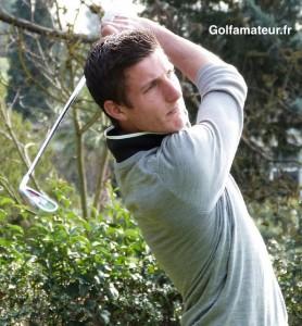 Auteur du meilleur score (66) de la journée, Mathieu Sire-De Maria a ravi la première place à Dimitri Darnaud.