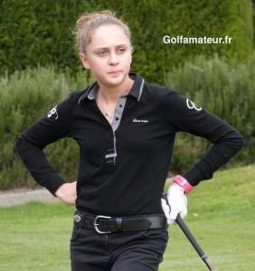Pauline Roussin-Bouchard a réalisé un excellent premier tour.