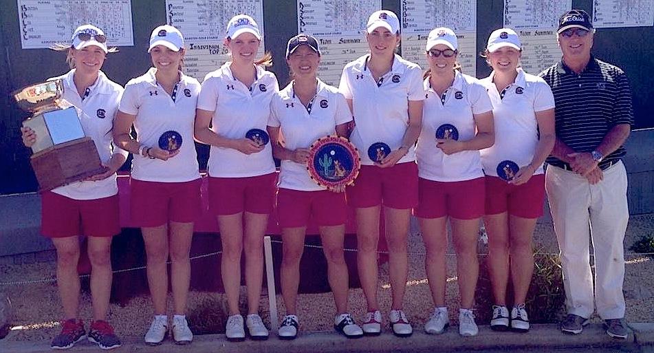 Justine Dreher et ses partenaires de South Carolina ont remporté leur deuxième victoire de la saison. De bon augure avant leur Conference.