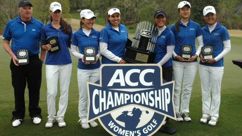 Céline Boutier a été la seule joueuse à boucler le tournoi sous le par et a ainsi remporté son troisième tournoi d'affilée. Duke a gagné cet ACC Women's Golf Championship également pour la troisième fois consécutive.