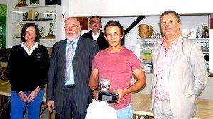Avec un score de 138, Dimitri Darnaud-Eynard a remporté son quatrième tournoi d'affilée au Val de l'Indre.