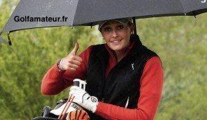 Depuis la Golfer's, Marion n'a plus disputé de tournoi mais a continué à s'entraîner entre deux révisions du bac.