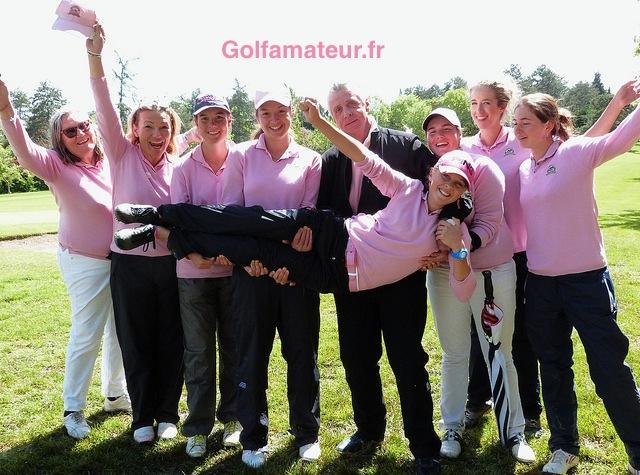 Pour sa première Golfer's, Pauline Roussin-Bouchard a vécu de belles émotions avec ses partenaires, son entraîneur et sa capitaine.