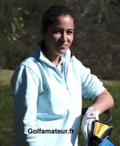 Après une grosse frayeur au 18, Elise Genoux a remporté le tournoi au deuxième trou de play-off.