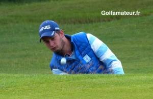 Hugo Rouillon a établi le meilleur score (66) de la journée et gagné plus de trente place.