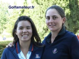 Justine Dreher a été félicitée par son amie Isabelle Boineau dès l'annonce du résultat final.