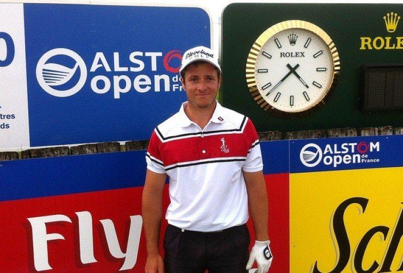 La première victoire de Jean-Pierre Verselin sur le Alps Tour