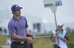 Julien Brun a connu des hauts et des bas au cours de son troisième tour sur le très exigeant Golf National.