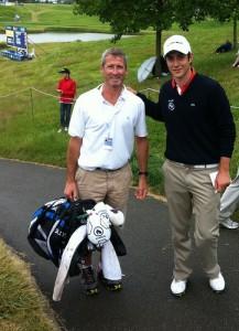 Julien Brun a beaucoup apprécié l'aide de son expérimenté cadet anglais, Mike Boddy.