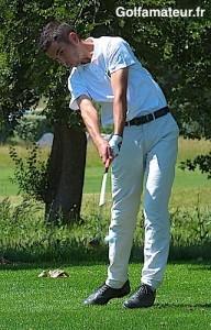 Nicolas Platret a bénéficié d'un excellent long jeu qui lui a permis d'établir le meilleur score (65).