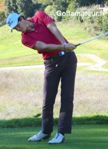 Malgré un dernier score au-dessus du par (+ 2), Nicolas Aparicio s'est classé seizième de son deuxième tournoi professionnel.
