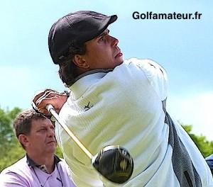 Gilles Bordonado a établi le meilleur score (68) de la qualification du Masters 13 aujourd'hui à la Sainte-Victoire.