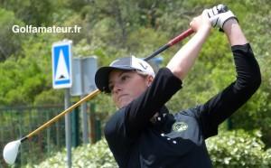 Marie Fourquier a joué trois fois sous le par lors de ses trois derniers tours de la finale des cartes d'accès au LET.
