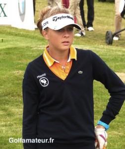 Après un gros travail sur son swing, Pauline Roussin-Bouchard se sent prête à entamer la saison.