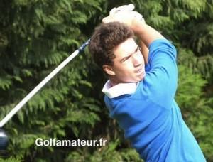 Le jeune Toulousain, Théo Berger, occupe la deuxième place à trois coups de Pierre Mazier.