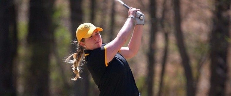 Inès Lescudier et Kennesaw State leaders à Augusta